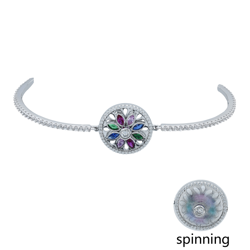 Fashionable Women Spinning Bracelet